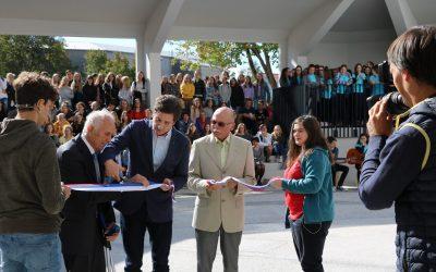 Otvoritev obnovljene okolice in začetek praznovanja