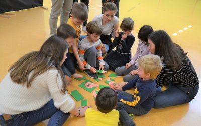 Vezalkine sanje – predstava in delavnice za predšolske otroke